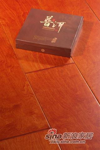 【永吉地板】实木仿古罗浮宫系列——桦木爱情海沙滩