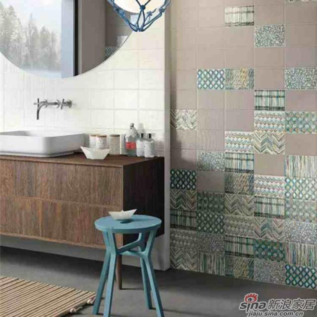 <center><b>【个性设计】</center></b><br>KIKO系列有三种颜色的素砖,八款创意花砖,12*18的规格,为您打造清新雅致又富有异域风情的家居空间,个性十足。