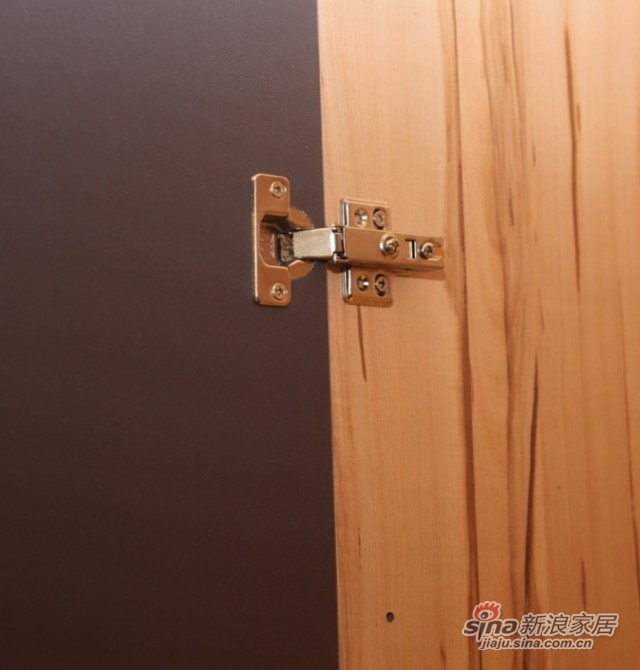 迈格家具 两门衣柜SA11SA4 灰苹果木-1