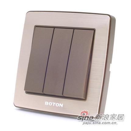 博顿正品开关插座面板-1