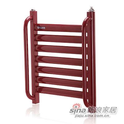 南山散热器卫浴散热器扶手钢制椭圆管花兰-0