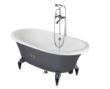 纽凯古典型铸铁浴缸
