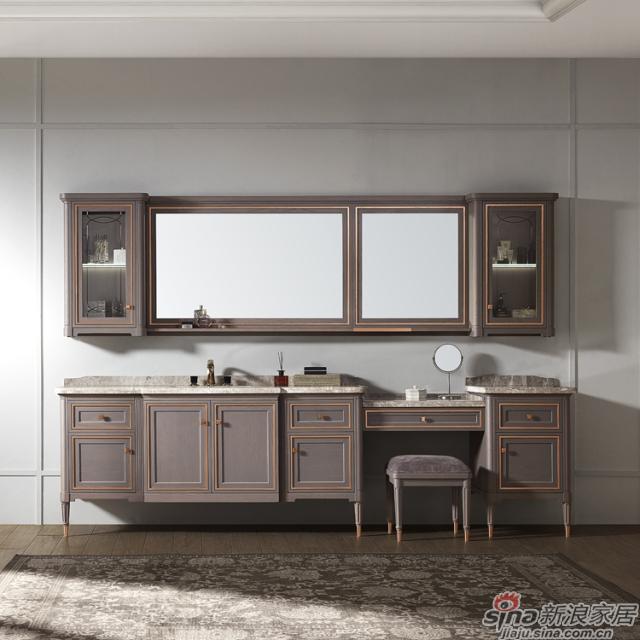 阿洛尼浴室柜-鎏金岁月A1637
