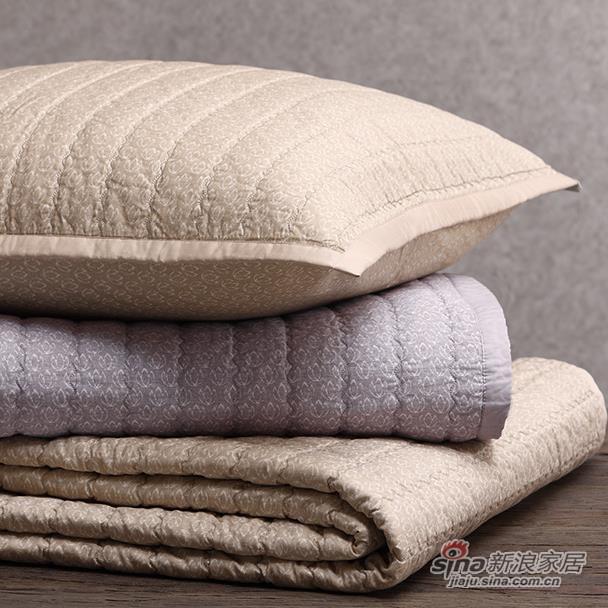 全棉印花绗缝盖被-0