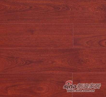 大卫地板中国红-锦绣红系列强化地板DW0031红色风情-0