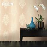 柔然壁纸 新古典复古马士革环保木浆纤维美国进口墙纸