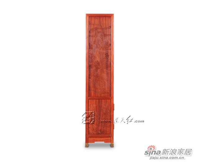 连天红云龙纹柜格-4