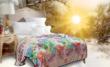 富安娜家纺圣之花毛毯毯子
