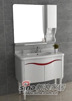 安华卫浴实木浴室柜anPGM3325G-D