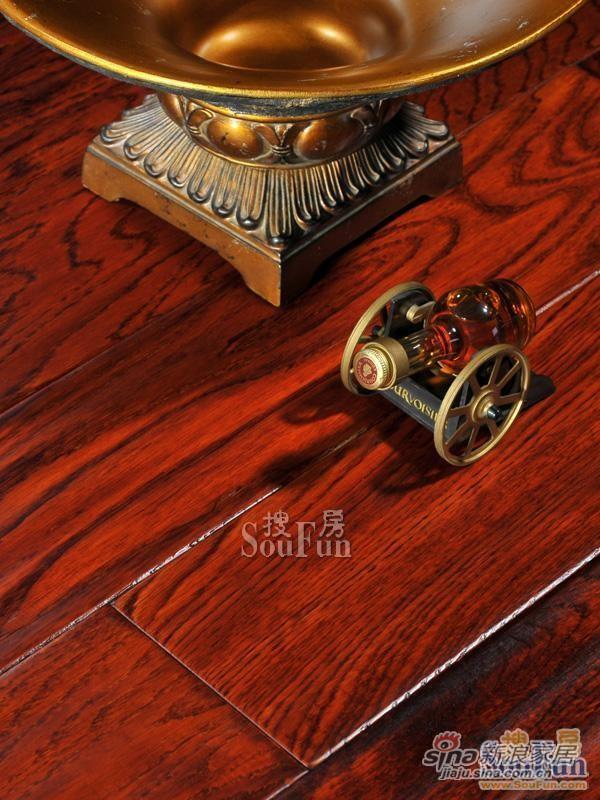 德尔SO-7榉木仿古实木地板-1