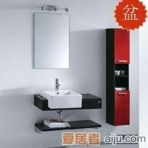 法恩莎实木柜盆系列FP3645盆(455*455*175mm)1