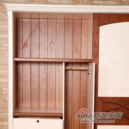 小憨豆家居进口白蜡木卧室衣柜-3