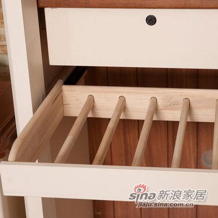 小憨豆家居进口白蜡木卧室衣柜-5