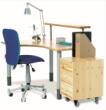 芙莱莎-L型书桌