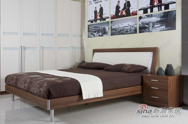 东方百盛-B589双人床-0
