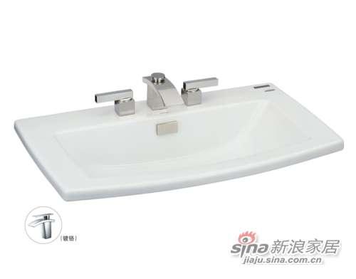 TOTO台上式洗脸盆LW311B-0