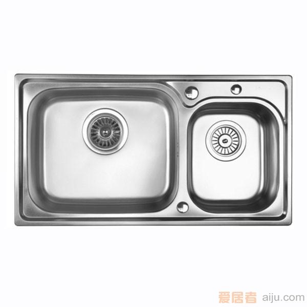 GORLDE优质不锈钢水槽/洗菜池 巴赫系列W2035FY(大小盆)1