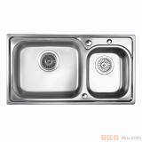GORLDE优质不锈钢水槽/洗菜池 巴赫系列W2035FY(大小盆)