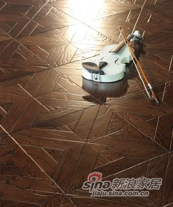 宏鹏地板艺术拼花系列—维也纳之音PH178