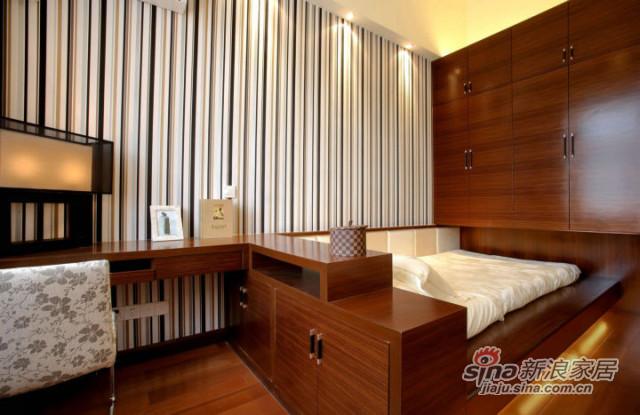 艺景湾 130平米 现代中式-1