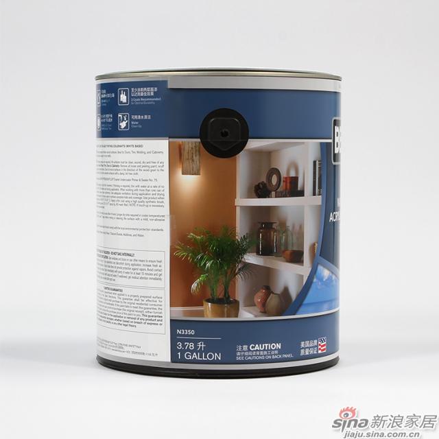 百色熊室内水性多彩木器漆半光  1加仑-3