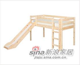 芙莱莎-拐角滑梯床-0
