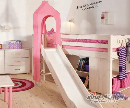 芙莱莎-拐角滑梯床-1
