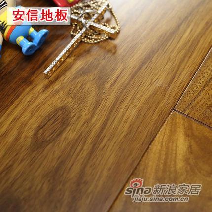 安信地板 非洲花梨100%全实木地板 -0