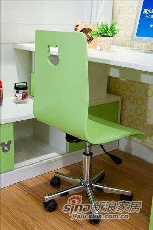 迪士尼儿童彩色家具-米奇-椅子(转脚)-2