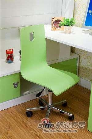 迪士尼儿童彩色家具-米奇-椅子(转脚)-3