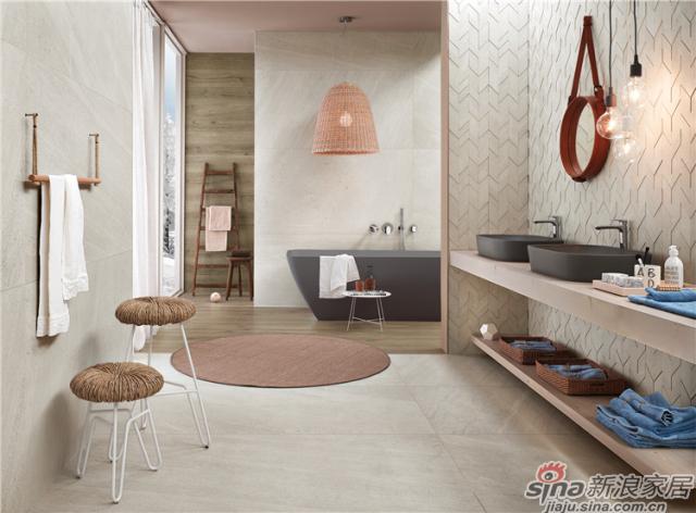 北欧石系列瓷砖打磨出表面光滑的质感,是家装完美无瑕最好的典型,瓷砖表面的手感柔软丝滑,微妙的反应,唤醒了石头最深层的美。