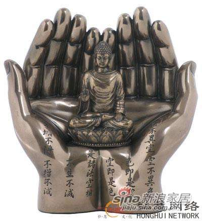 威罗尼-釋迦牟尼在手中-冷镀铜