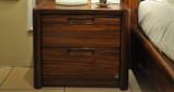 柏森B201实木床头柜