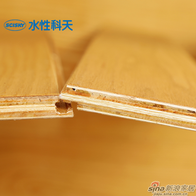 锦色流年美国红橡实木复合地板-3
