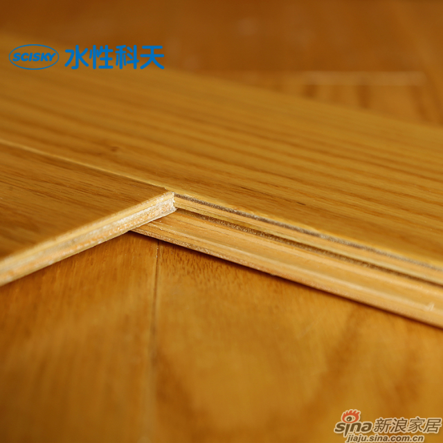 锦色流年美国红橡实木复合地板-4