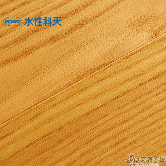 锦色流年美国红橡实木复合地板-5