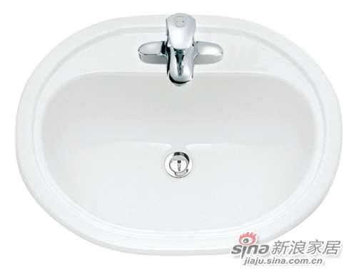 TOTO台上式洗脸盆LW851B-0