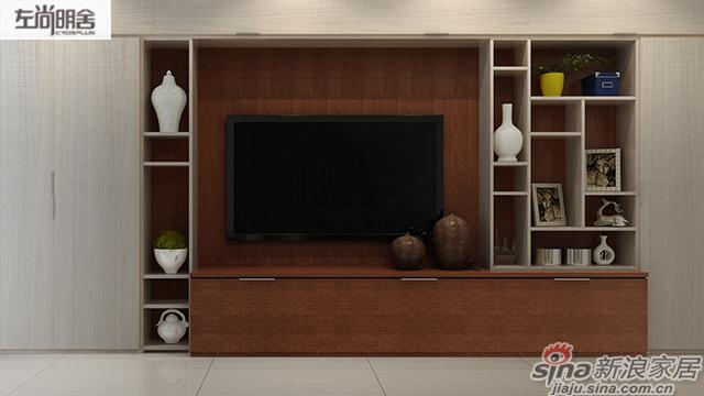 左尚明舍美式客厅-3