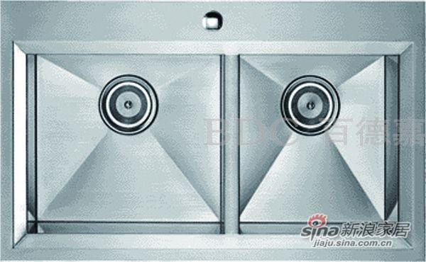百德嘉五金龙头挂件-H762015不锈钢多功能水槽 -0