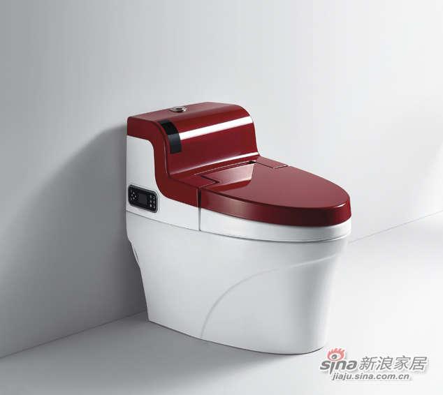 航标卫浴即热式一体化中水箱智能坐便器