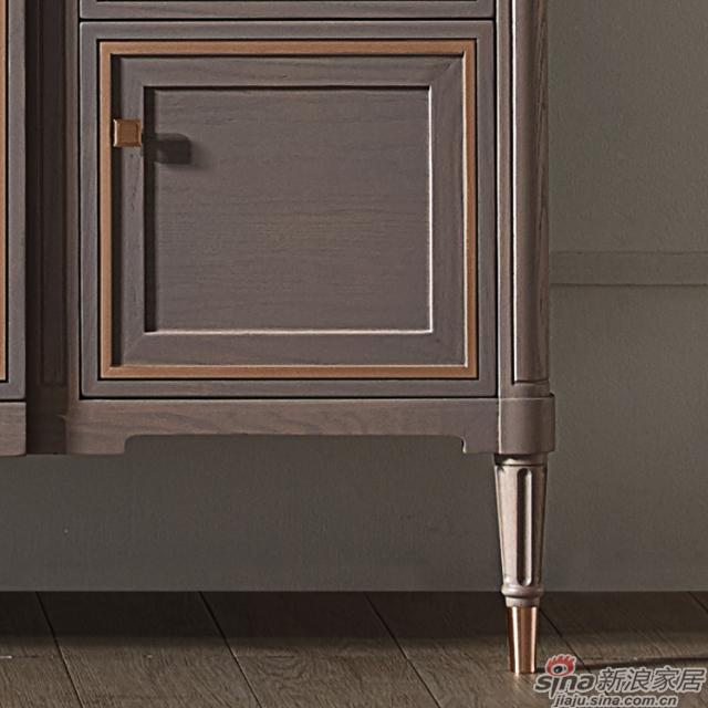 阿洛尼浴室柜-鎏金岁月A1637化妆台组合柜-2