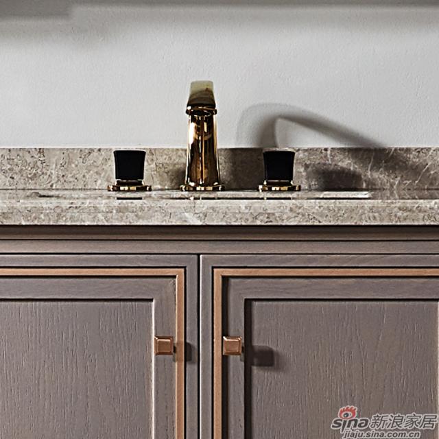 阿洛尼浴室柜-鎏金岁月A1637化妆台组合柜-3