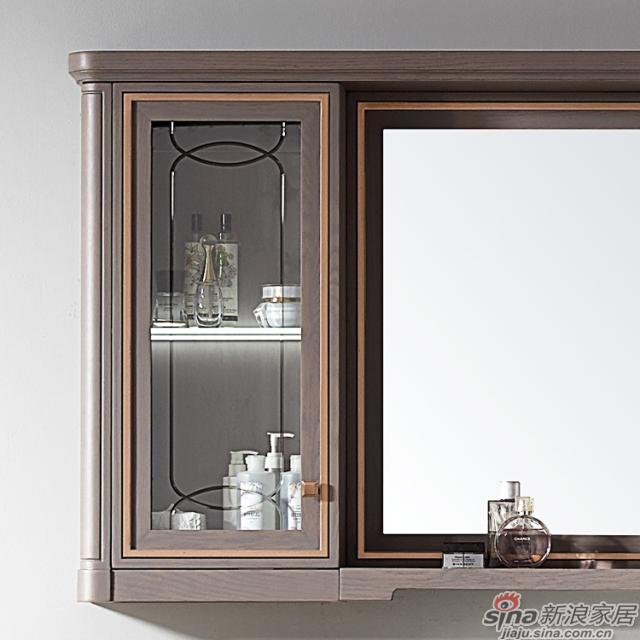 阿洛尼浴室柜-鎏金岁月A1637化妆台组合柜-4
