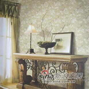 爱舍壁纸墙纸花之约田园卧室-0