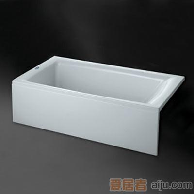 惠达-HD1306活动单裙边浴缸(含下水)1