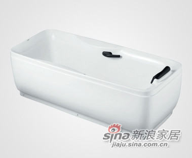 裙边浴缸 HD1103A\HD1104A-3