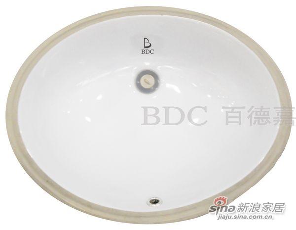 百德嘉陶瓷件台下盆-H312006-0