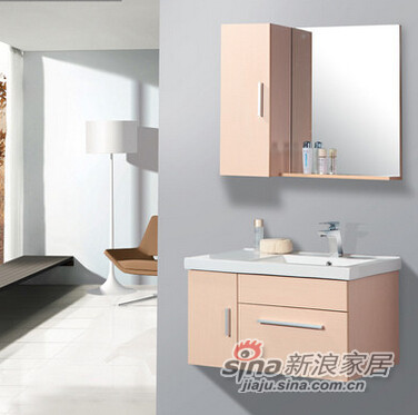 欧路莎实木浴室柜-1