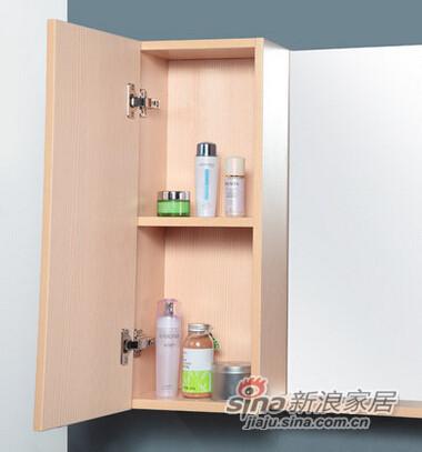 欧路莎实木浴室柜-2
