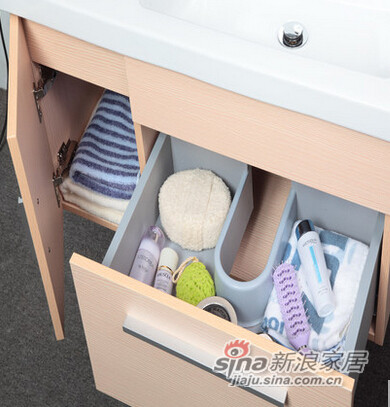 欧路莎实木浴室柜-3